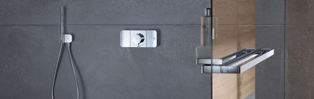 Axor (marchio design Hansgrohe) presenta il nuovo sistema doccia AXOR ONE