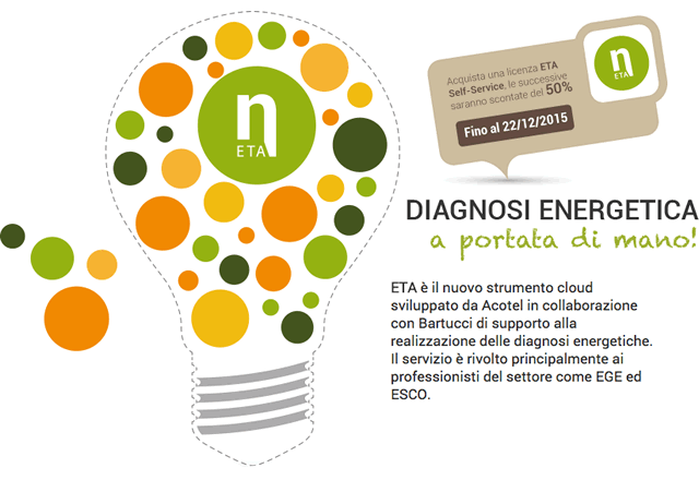 Acotel Net | Diagnosi energetica con ETA - Energy Track & Audit