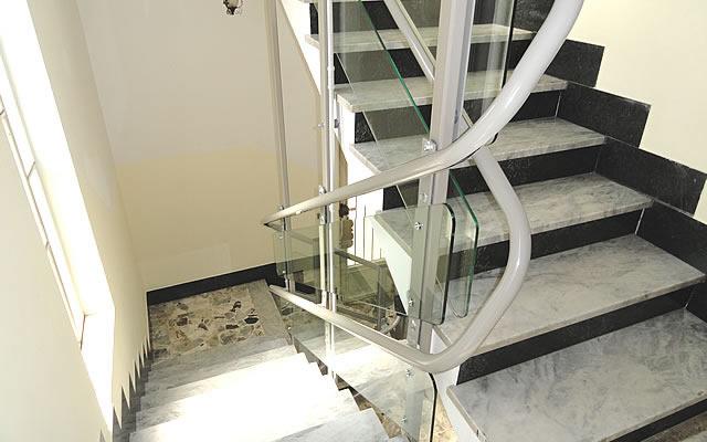 Il montascale una soluzione per il superamento delle for Planimetrie delle scale curve