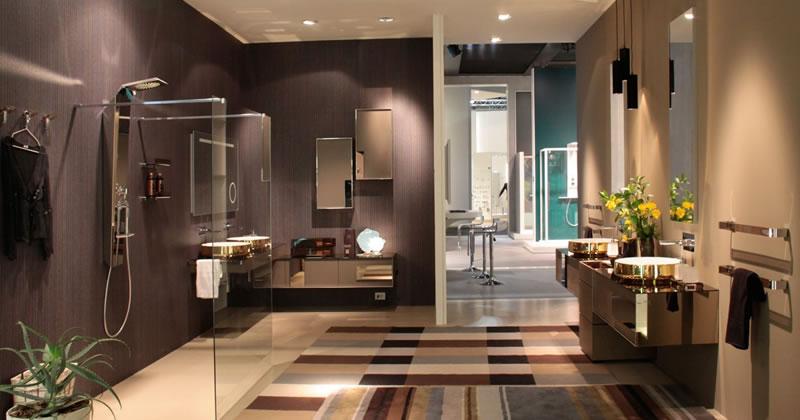 Inda stanze da bagno da vivere un successo al salone del - Stanze da bagno moderne ...