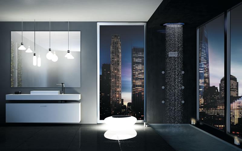 uno spazio wellness nel bagno di casa con le soluzioni fir italia ... - Bagno Di Casa