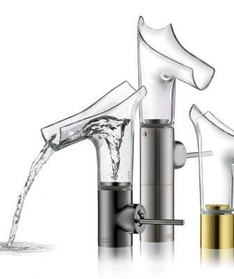 Miscelatore AXOR Starck V: sperimentare la vitalità dell'acqua
