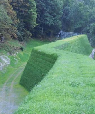 Viresco® Sator il sistema di controllo dell'erosione integrato nell'architettura del paesaggio