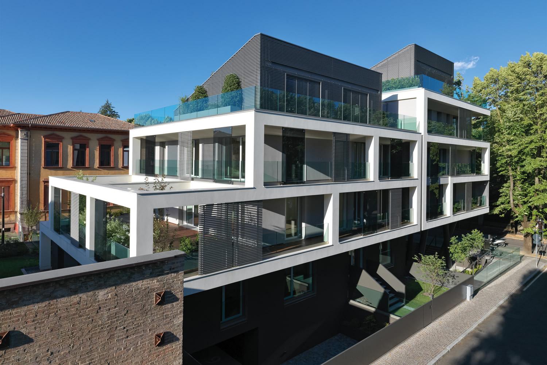 Viessmann nel progetto della Casa sul Parco a Fidenza, un'architettura contemporanea in un sito ricco di storia