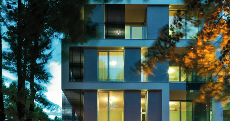 I prodotti Viessmann nel progetto della Casa sul Parco a Fidenza, un'architettura contemporanea in un sito ricco di storia
