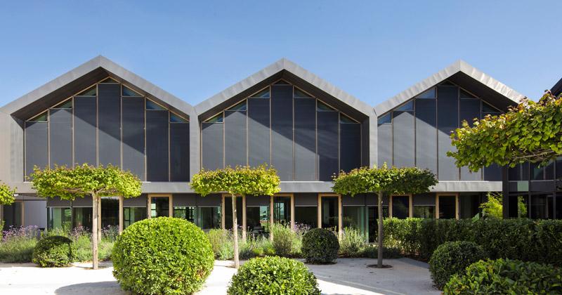 Davines Village: le schermature solari Resstende nell'ultimo progetto di Matteo Thun