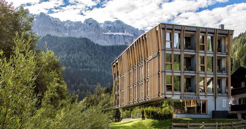 Mountain Design Hotel EdenSelva. I prodotti Viessmann per migliorare l'efficienza energetica degli alberghi