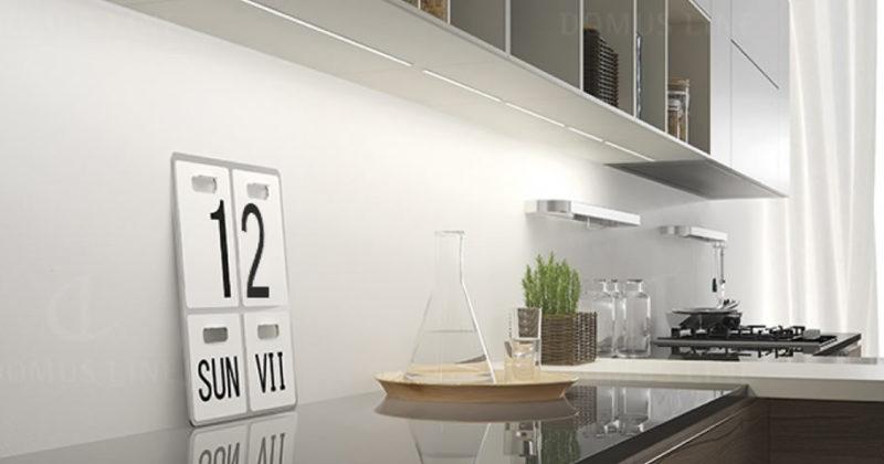 Superfici illuminate con profili Led di soli 4mm. Domus Line presenta la nuova collezione FLEXYLED SE H4