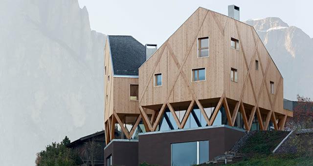 Alto adige la quotidianit dell architettura for Architettura residenziale contemporanea
