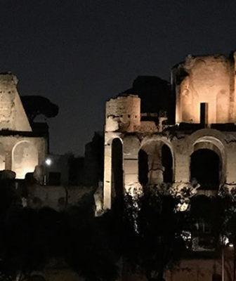Tra light design e permanente roma si scopre anche di sera for Architetto di interni roma