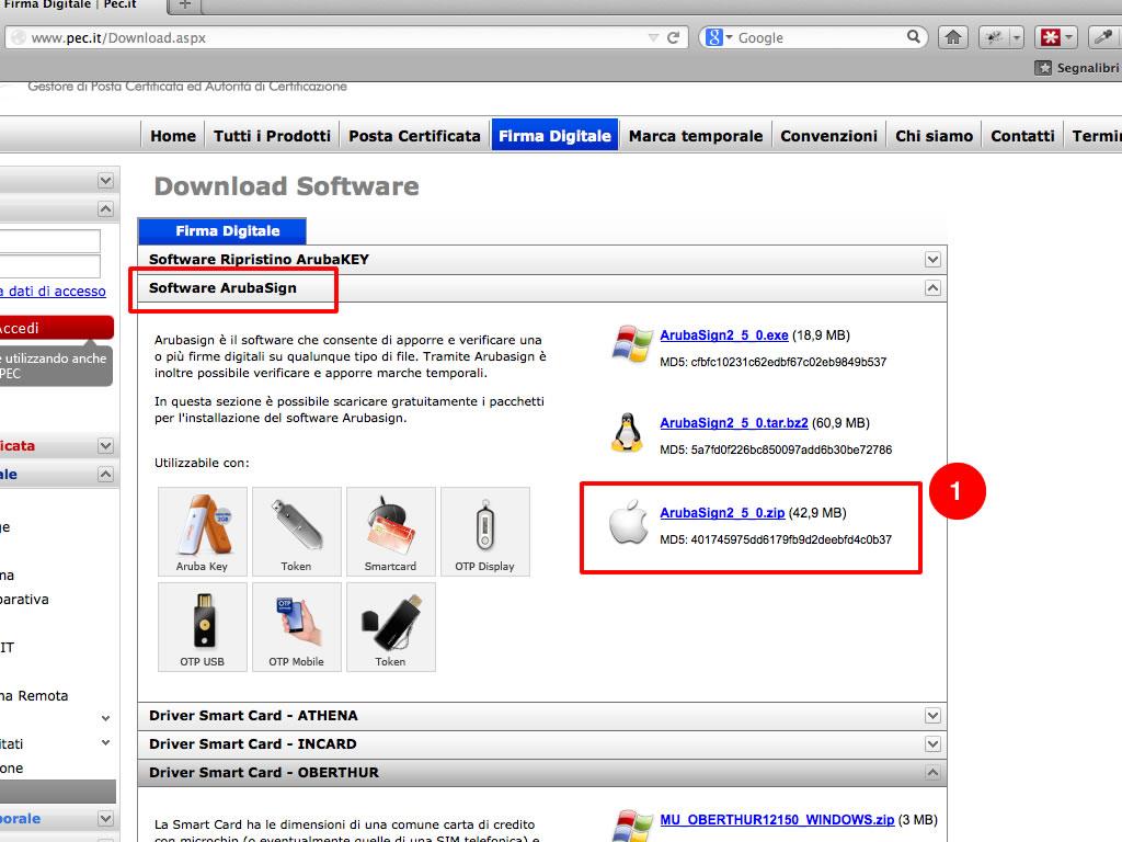 Firma digitale su mac osx 01 guide for Software di progettazione di layout di costruzione gratuito