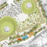 Sono le colline per parcheggi di Giancarlo Scognamiglio a vincere il concorso per la Piazza Campo del Palio di Asti